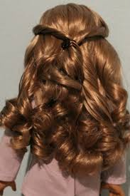 american doll ag doll hair