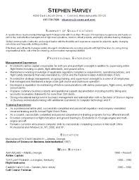 Sample Functional Resume Template – Saleonline.info