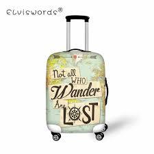 ELVISWORDS чемодан на колесиках <b>защитный чехол</b> птица ...