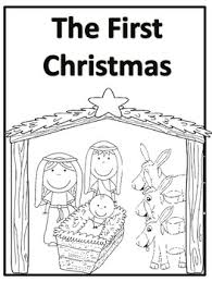 the first story and coloring book