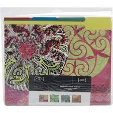 Decorative Folders Design Karen Foster Design 100100 Decorative File Folders Pack of 100 2