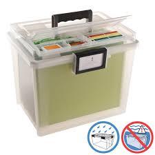 office file box. Iris Weathertight Portable File Box With Handle Office