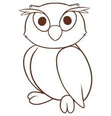 Small Picture How to draw how to draw an owl for kids Hellokidscom