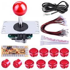diy arcade game on und joystick controller kit für himbeer
