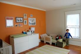 orange wall paintThe Underused Interior Design Color  How To Use Orange Indoors
