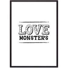 <b>Постер в рамке Дом</b> Корлеоне Love monsters 40x60 см купить в ...