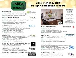 Kitchen And Bath Design Schools Custom Design Awards NKBA Puget Sound