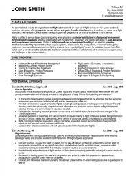 Flight Attendant Sample Resume Resume Samples