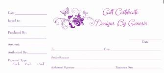 free templates certificate for hair for cosmetology salon