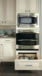 double oven microwave combo. Wall Ovens And Microwave Over Double Oven Combo Cabinet Dimensions E