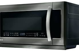 lg black stainless microwave black stainless steel microwave lg black stainless steel series over the range