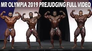 mr olympia 2019 open full prejudging
