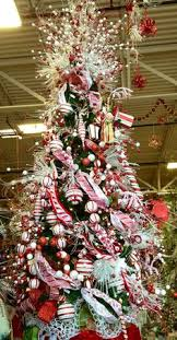 Candy Cane Decorations For Christmas Trees CHRISTMAS TREES RAZ 60 Αναζήτηση Google I love Christmas 16