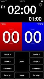 Taekwondo Bout Chart Software Score Tkd 1 1 1 Free Download