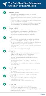 New Hire It Checklist How To Execute The Perfect 90 Day New Hire Onboarding Process