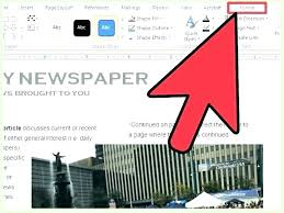 Microsoft Newspaper Article Template Microsoft Office Newspaper Template Free Download Ethercard Co