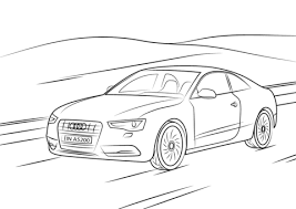 Audi A5 Kleurplaat Gratis Kleurplaten Printen