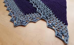 Crochet Decoration Patterns Atlantic Lace Shawl Make My Day Creative