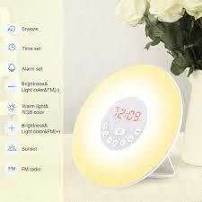 Totobay Wake Up Light Uk Tsmall Totobay Wake Up Light Newest Alarm Clock 2nd