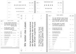 N5 Reading Chart Reading Charts In Ophthalmology Springerlink