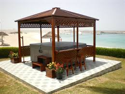 You can find a Jacuzzi (') gazebo in square, hexagon, or octagon  shape. These wonderful structures come in all sizes. Many people choose 10  x 10 but ...