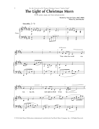The Light Of That City Sheet Music Sheet Music Digital Files To Print Licensed Choral Digital