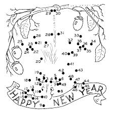 New Years Coloring Page New Years Coloring Page Year Pages 3 Kids