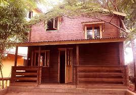 wooden house furniture. Model: VILLA G+1 Wooden House Furniture L