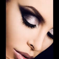 dusty pink black eyes