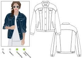Denim Jacket Pattern
