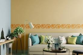 paint your walls with stencils painting