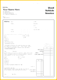 Receipt For Sale Of Car Receipt Sale For Car With Used Vehicle Invoice Template Uk