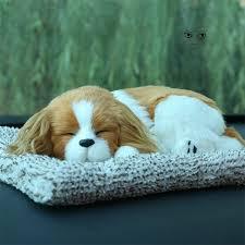 <b>Car</b> Ornament Plush Simulation <b>Cute</b> Sleeping Dog Puppy ...