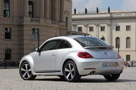 2012 Reflex Silver VW Beetle Turbo 3Q Rear View - | EuroCar News