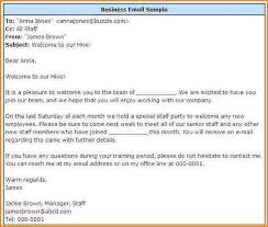 Sample Email Address Formal Business Example Emails Examples Saxr 7