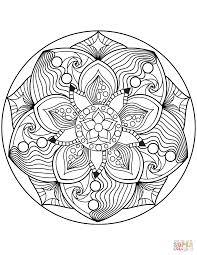 Disegni Di Mandala Floreali Da Colorare Pagine Da Colorare Con