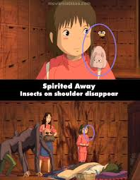 Spirited Away Quotes Magnificent Spirited Away 48 Movie Mistake Picture ID 48