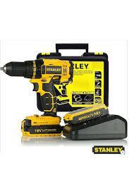 Stanley SCD201D2K 18 Volt 2 Ah Şarjlı Darbesiz Matkap Vidalama Fiyatı,  Yorumları - Trendyol