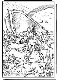 Ark Van Noach 4 Bijbel Kleurplaten Oude Testament