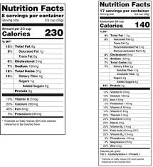 Ingredients Label Template Editable Nutrition Label Ingredients Template Image Free