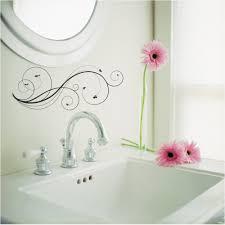 Wall Sticker Bathroom Bathroom Wall Decal Ideas