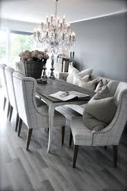 grey and white dining room table. neutral dining room design. love the use of grey for tone! | home interiors pinterest design, tones and luxury furniture white table l