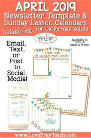 Education Newsletter Templates Free Preschool Newsletter Template Word Templates For April