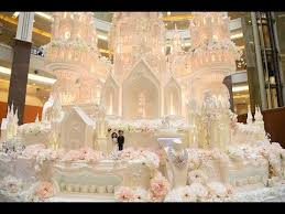 The Biggest And The Grandest Wedding Cake In Indonesia Youtube