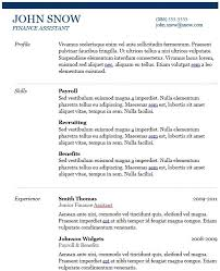 Cv Guidelines Recruiters Cv Templates