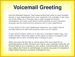 Office Phone Message Greeting The Template In Simchart For Medical