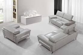contemporary grey sofa encore modern grey leather sofa set