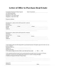 Sample Offer Letter Template Free Premium Templates Real Estate To ...