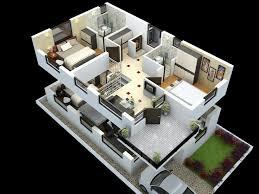 house plans with interior photos. Cut Model Of Duplex House Plan Interior Design Click Plans With Photos
