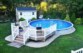 Then it's time to bring out your level. The Perfect Solution For Your Backyard Above Ground Pools